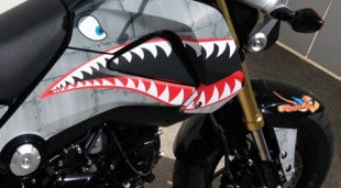Honda Grom Graphics kit