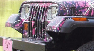 Muddy Girl Jeep