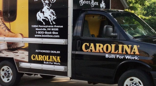 Boot Box Carolina Wrap
