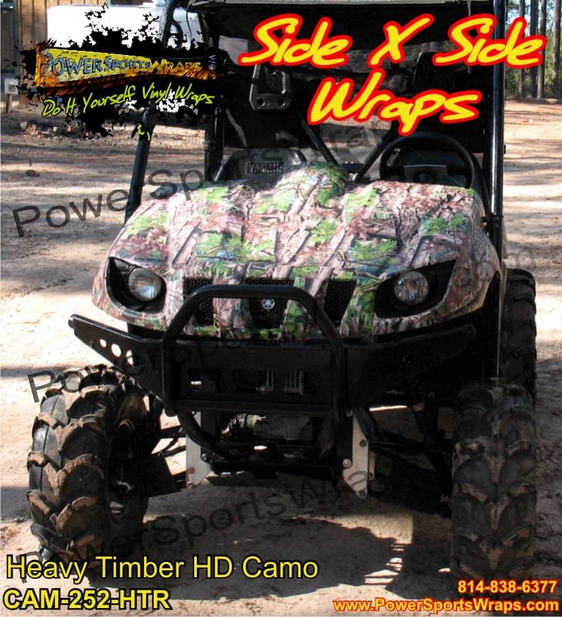 Yamaha Rhino Camo Decals