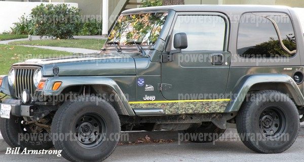 urban jungle mission Jeep rocker accent