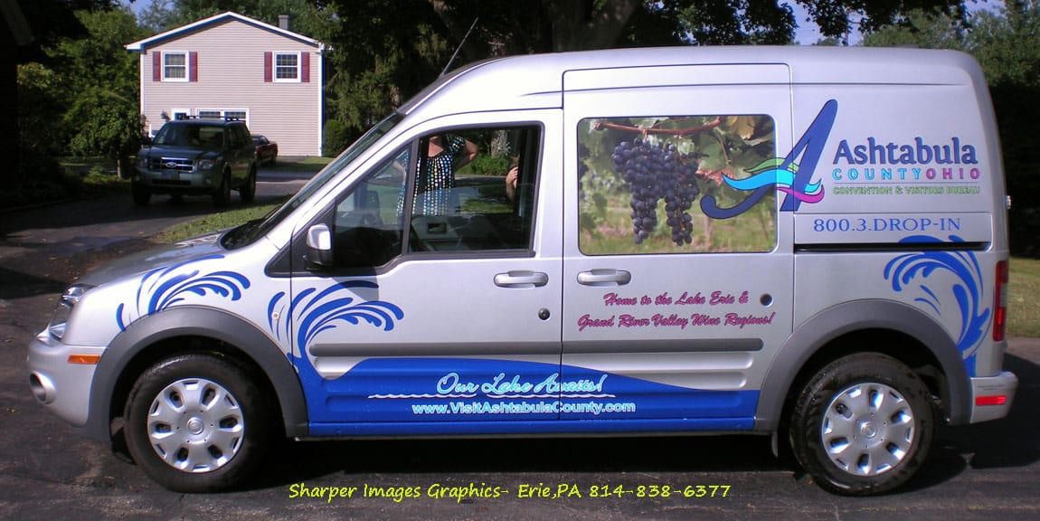 Ford Transit Connect Wraps Graphics Lettering