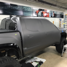 Matte Gray metallic wrapping film