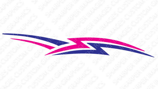Lightning B Decal Golfcargraphicscom - Decal graphics