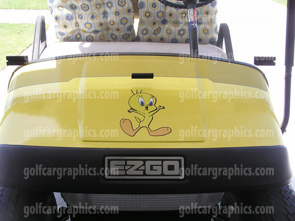 F41 Birdy Bird Golf Car Graphic