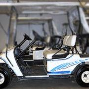 Chicane golf car kit Olympic blue