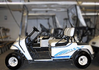 Chicane golf car kit Olympic blue