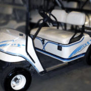 Chicane golf car decal kit