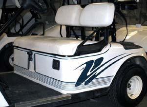 golf cart-design double