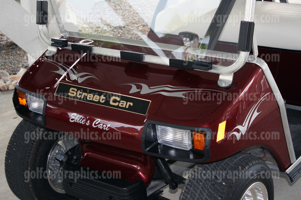 golf cart design Raptor B5 Silver