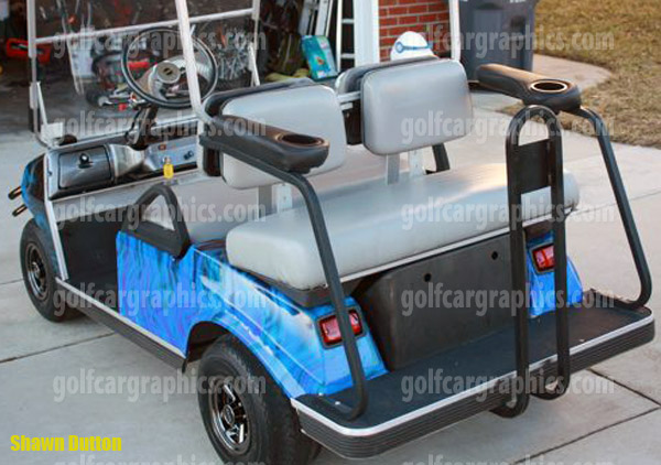 Fire Blues on teal pull cart, room essentials metal cart, teal golf cover,