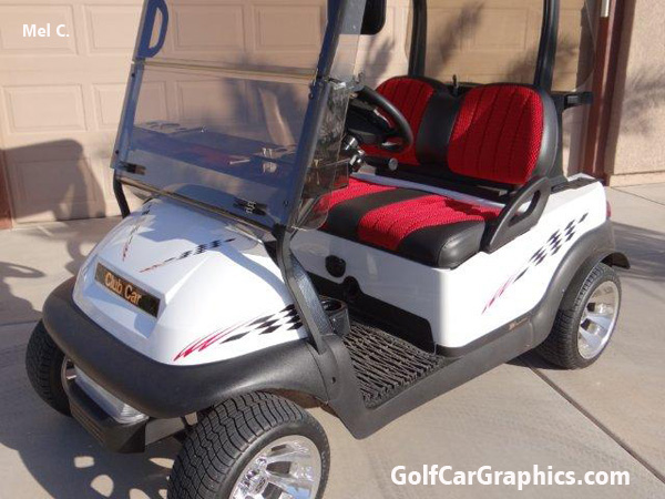 Winner B1 Decal Golf Car Graphic Graphic Decal Designs