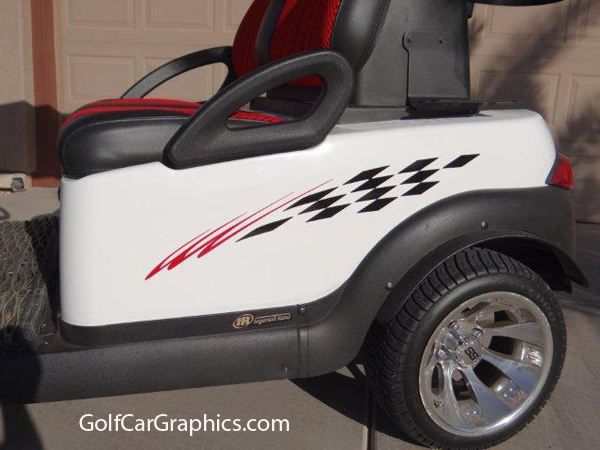 B1 Winners 2 Color Decal Golf Car Graphic