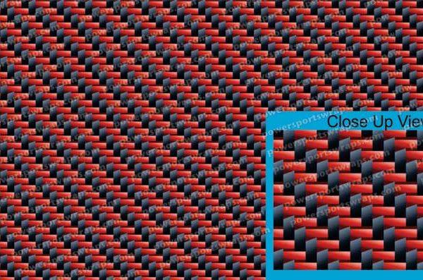 MTL-536-RBC Red Black carbon fiber
