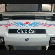 race star ul50 golf car decal design