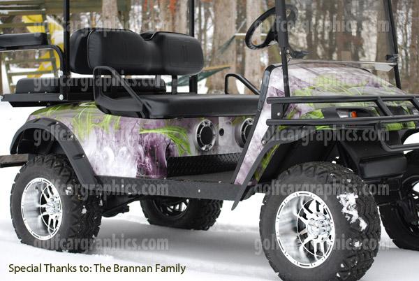 City Streets | Golf Car Graphics on custom golf cart body wraps, yamaha golf cart graphic wraps, golf cart graphic kits,