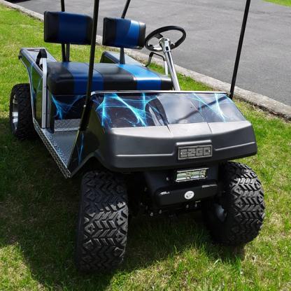 Liquid-web golf cart vinyl wrap kit Liquid Web. Available for all model golf carts