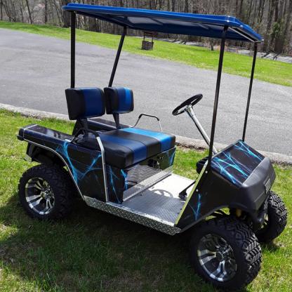 golf cart vinyl wrap kit Liquid Web