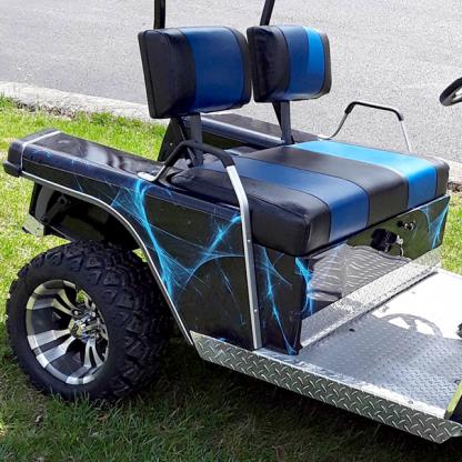 Liquid web golf car wrap kit
