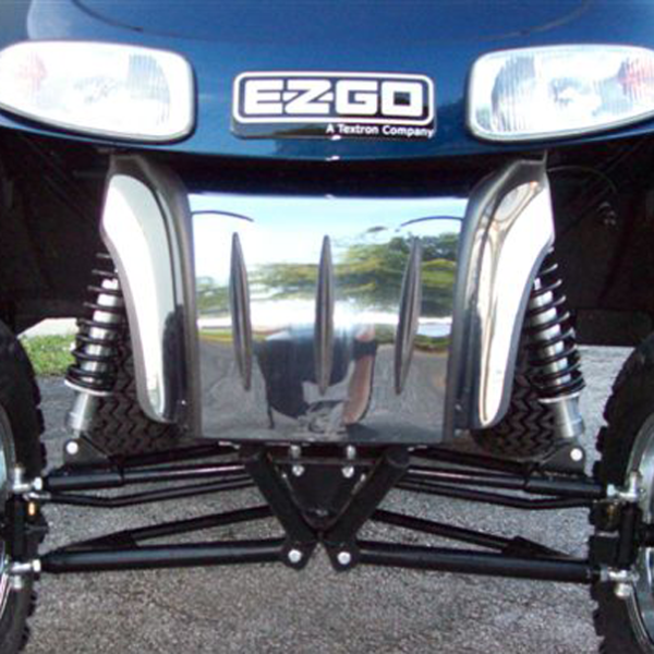 E-Z-GO RXV Chrome Bumper kit