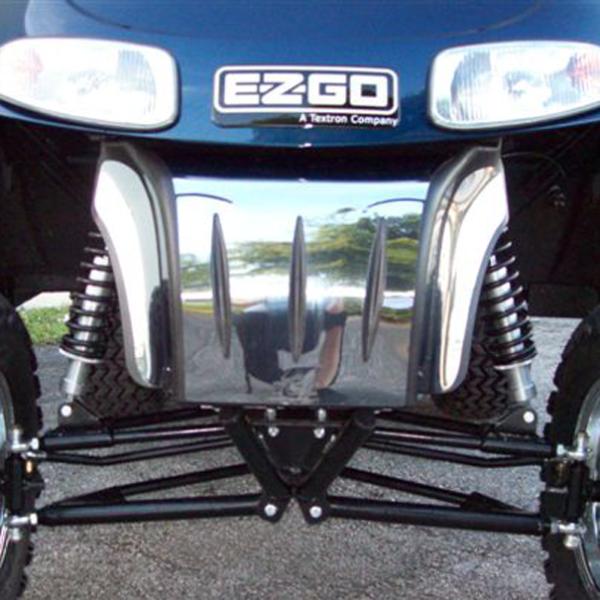 E-Z-GO RXV Chrome Bumper kit