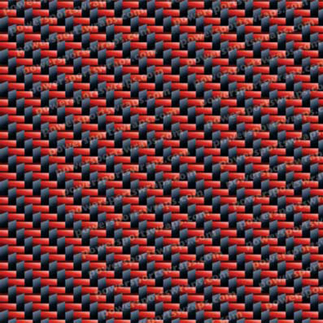 Red/Black Carbon Fiber Vinyl