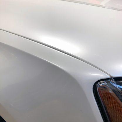 Beautiful Pearl White golf car wrap kit
