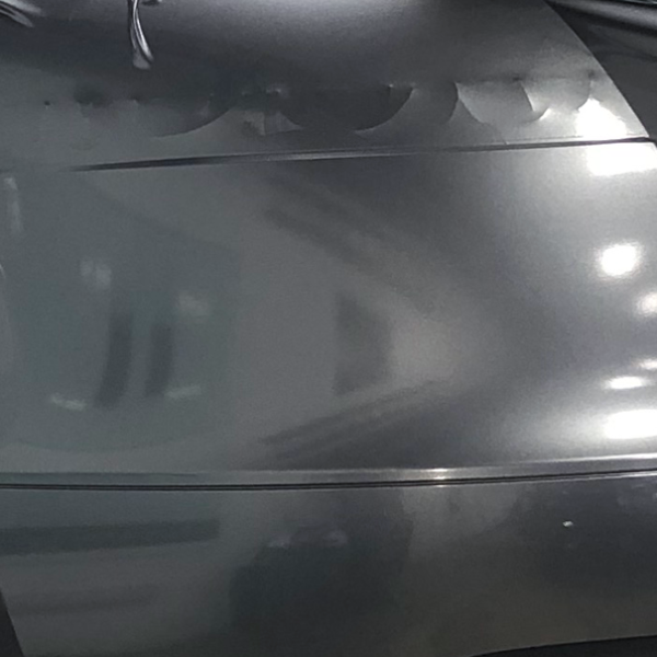 Gray Metallic Racite Gloss golf car wrapping film additional metal flake.