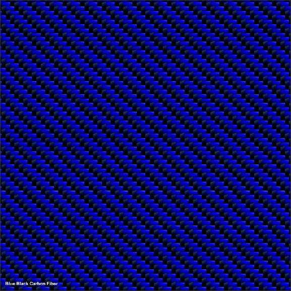 Carbon Fiber Blue Black | Golfcargraphics.com