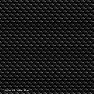 Gray-Black carbon fiber digital wrap pattern
