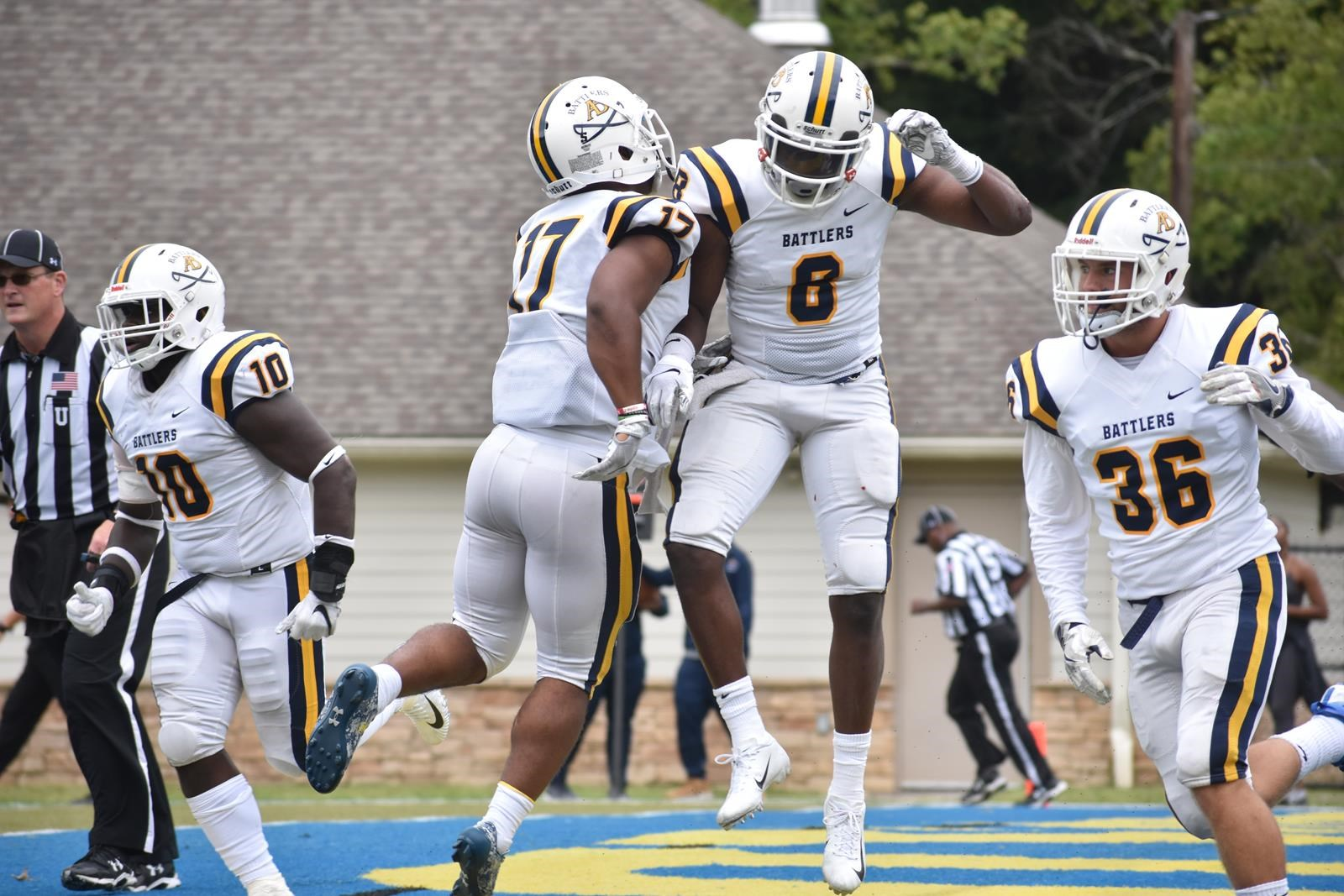 Ab Football Travels To Glenville State For I 79 Barrel Classic