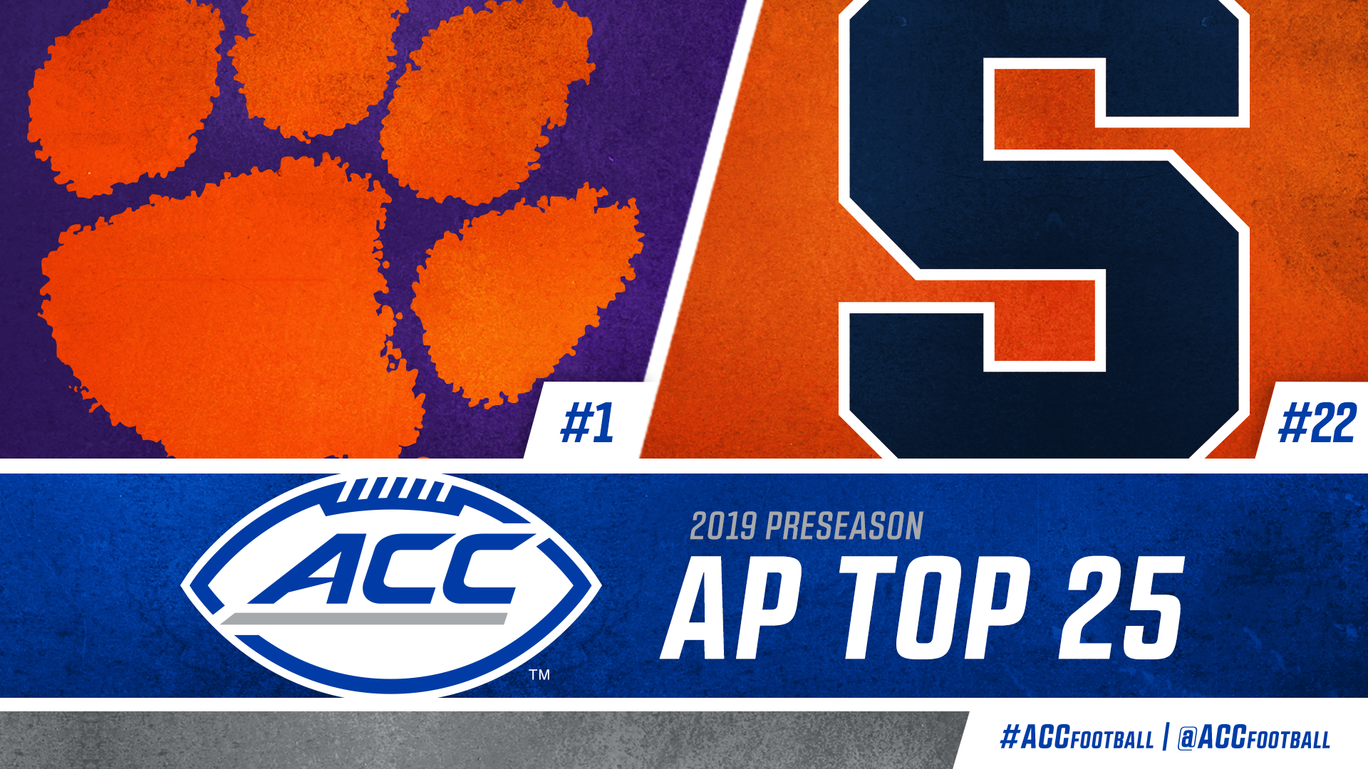 Another first for Clemson: No  1 in AP preseason Top 25