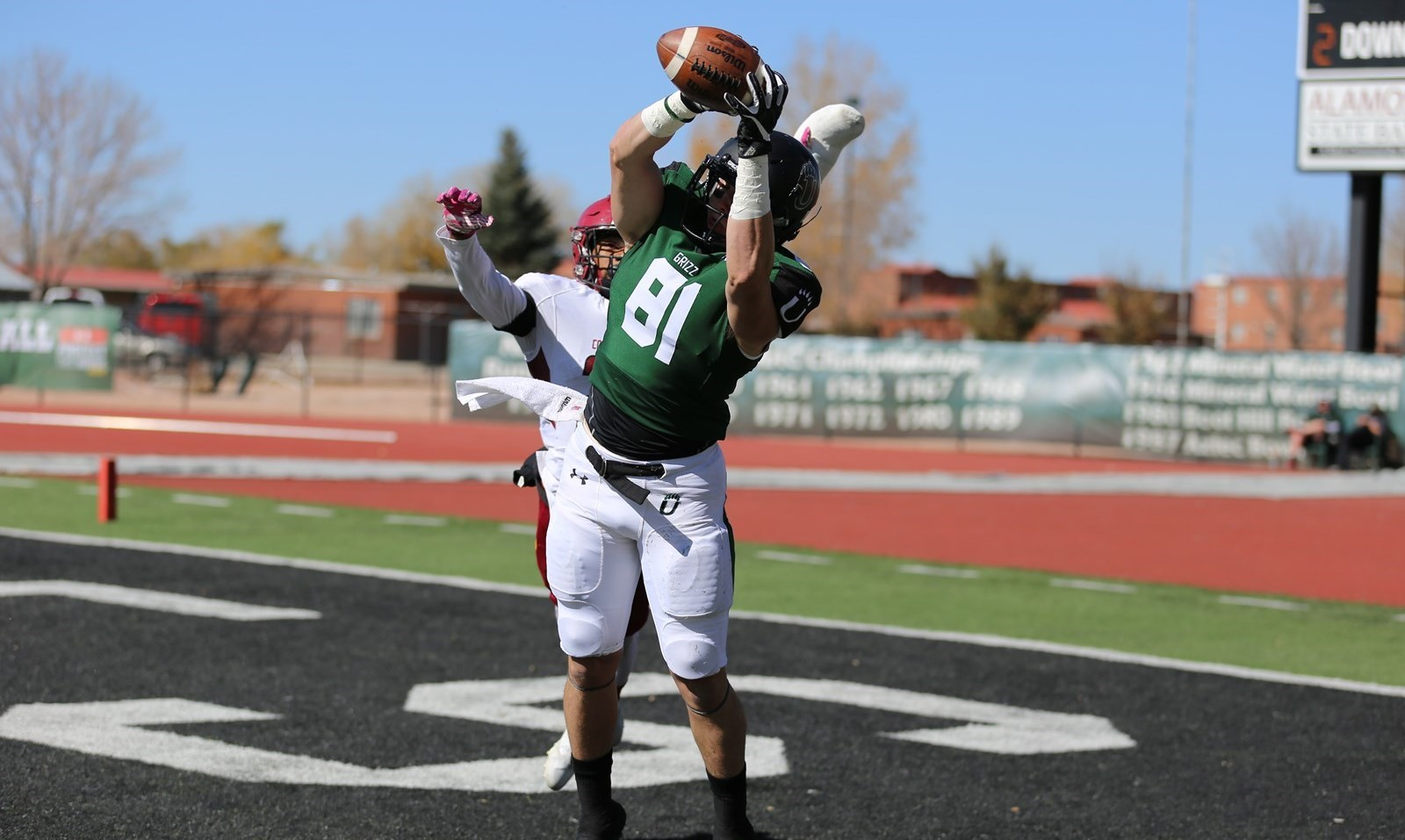 Fb Grizzlies Head West For Dixie State Homecoming Adams State