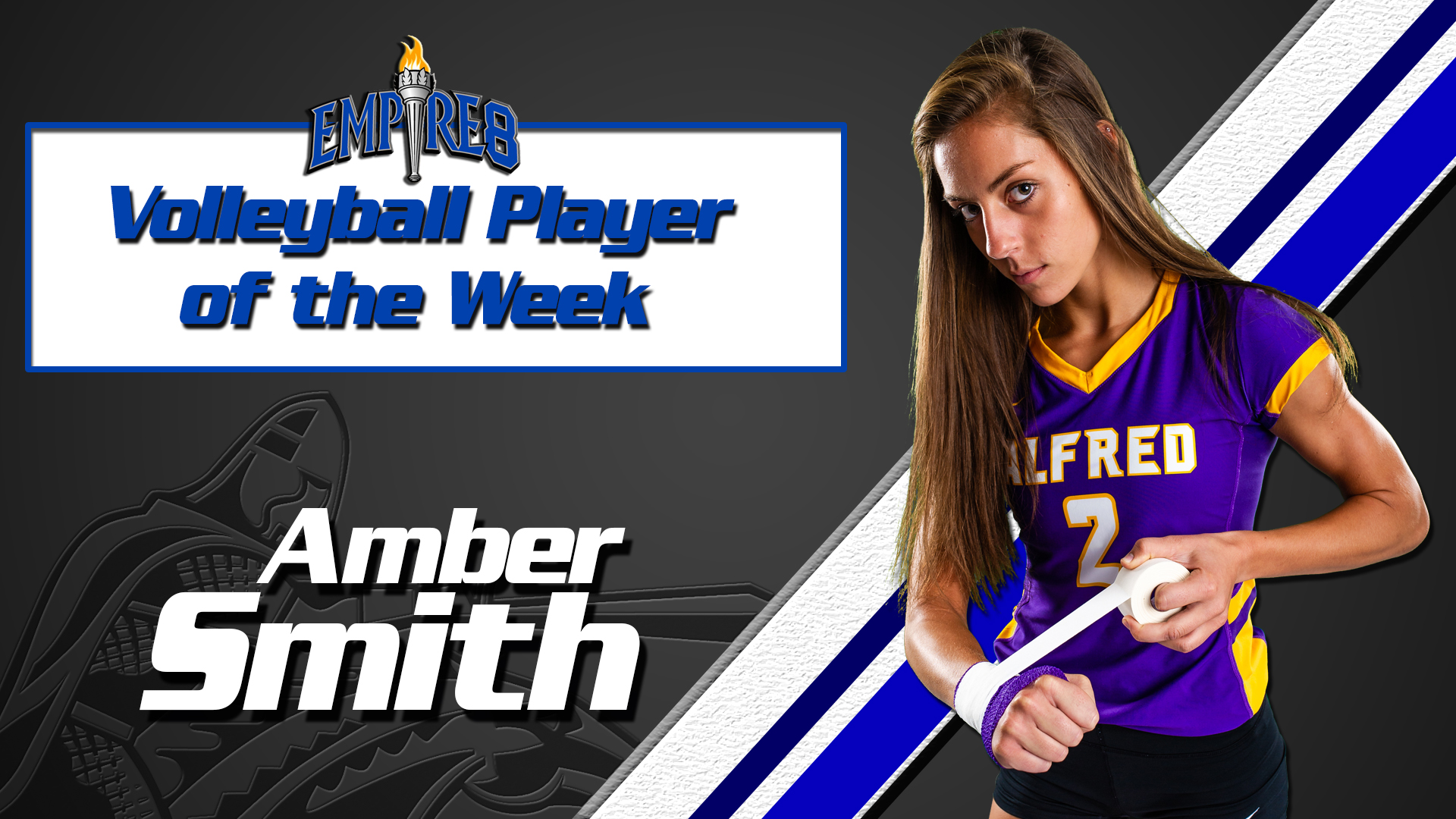 Smiths Career High Earns Empire 8 Weekly Honors Alfred University