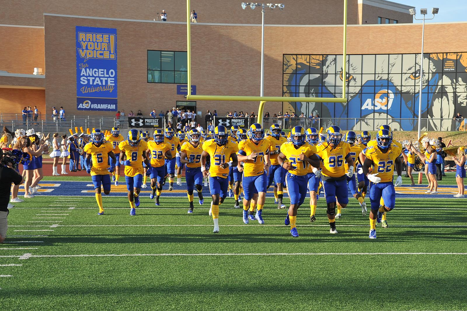 Rams Host Eastern New Mexico In First Home Game Of Season