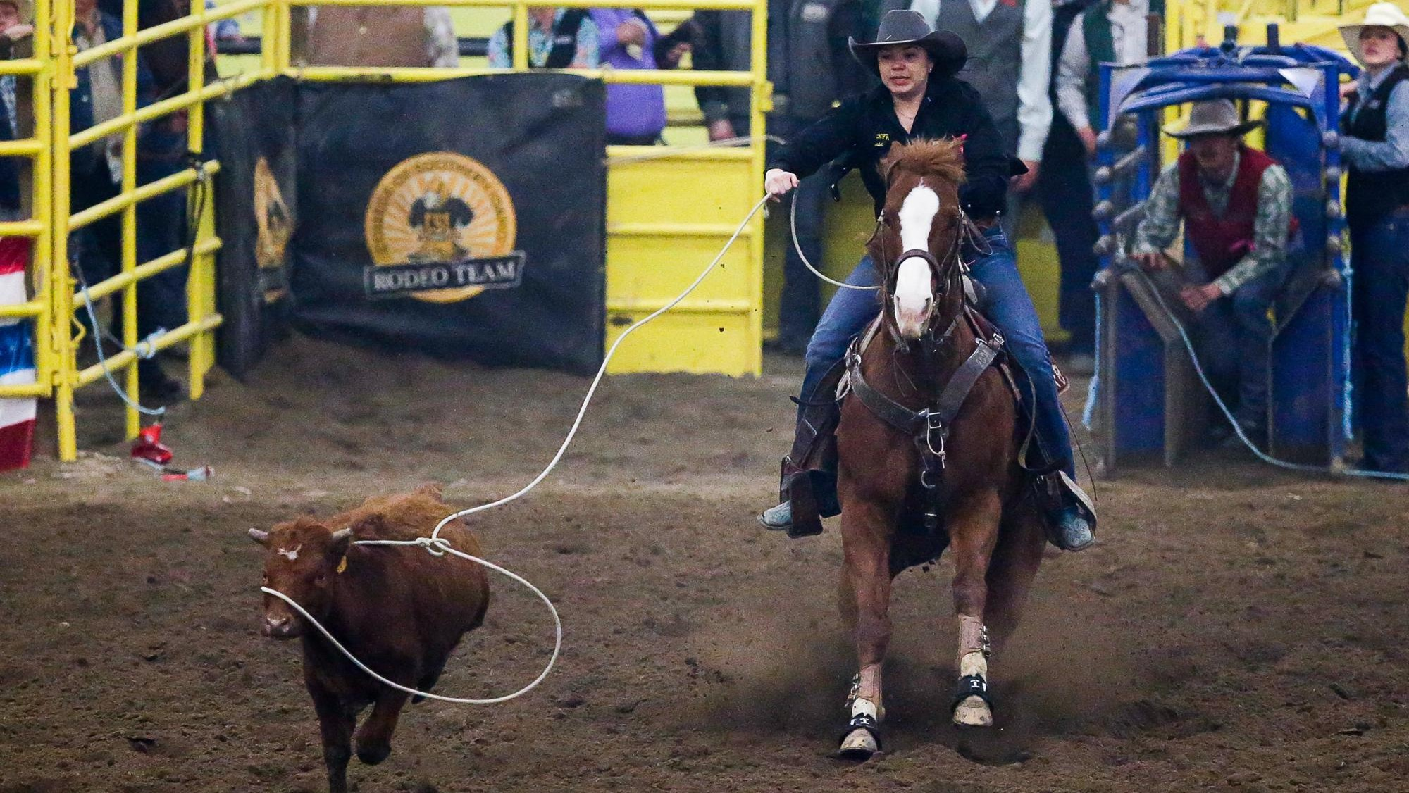 Cassie Bahe Women S Rodeo College Of Southern Idaho