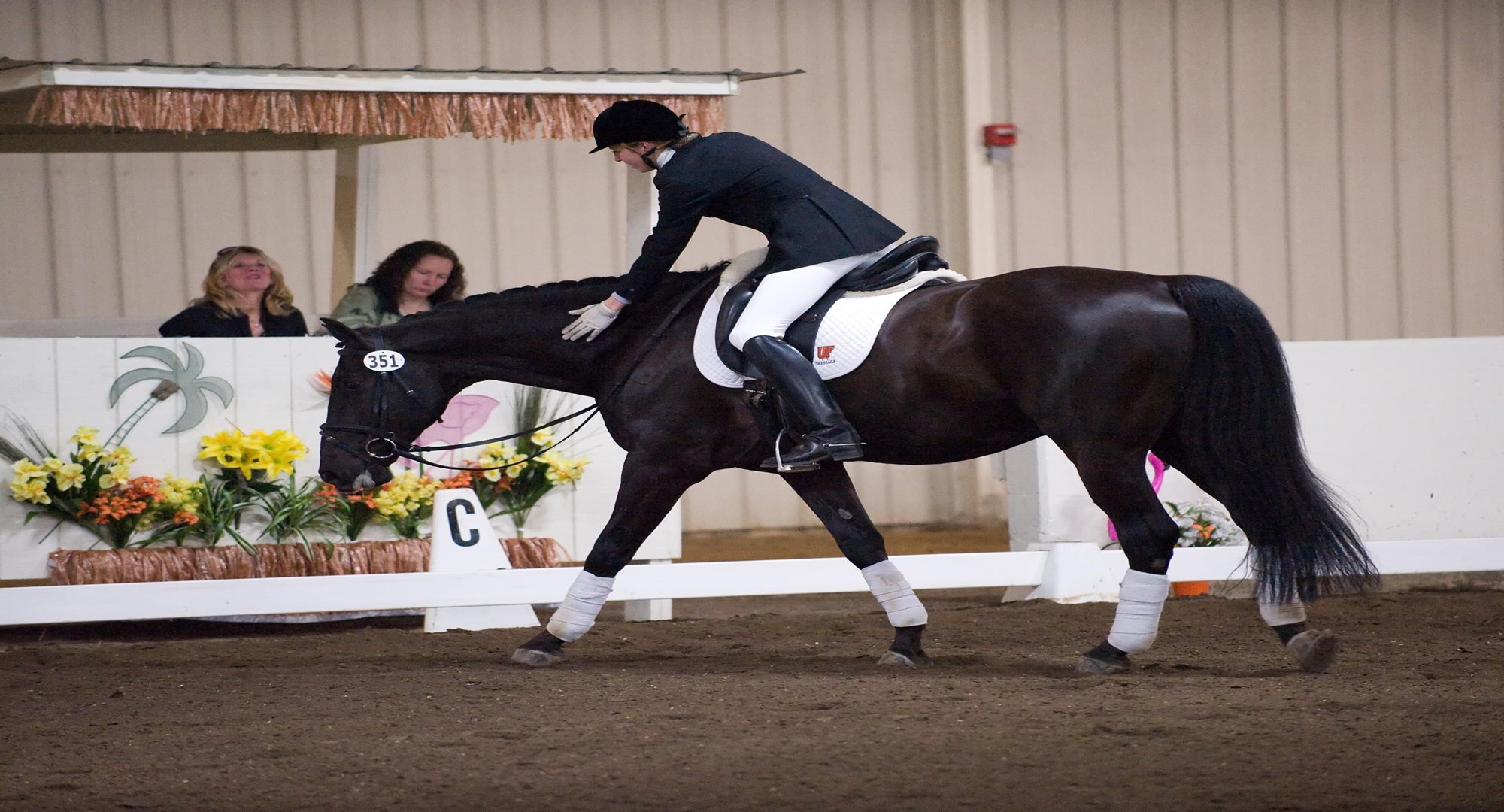 Delval Dressage Team Opens 2017 18 Season With Fifth Place