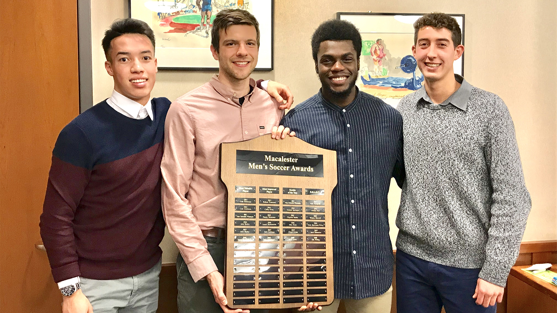 men s soccer scots announce 2018 team awards macalester college