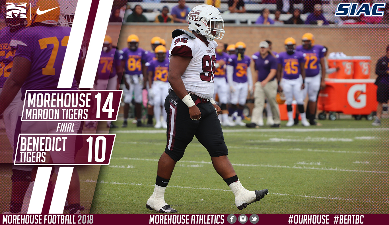 Morehouse Special Teams Spoil Benedict Homecoming In 14-10 ...