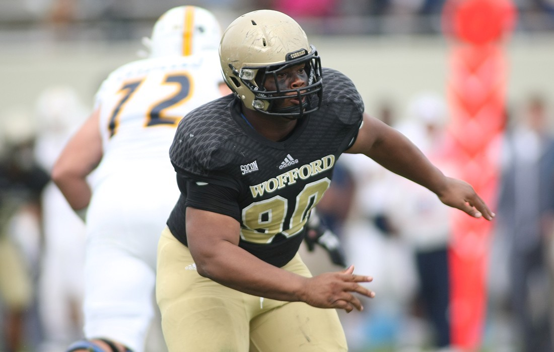 Rountree Moore Ford >> Miles Brown - Football - Wofford College Athletics