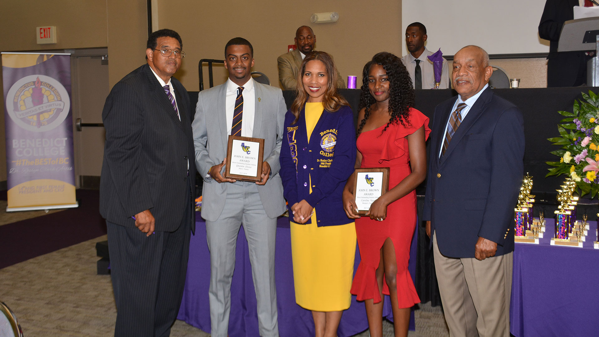 Benedict Holds Athletic Awards Banquet | Benedict College ...