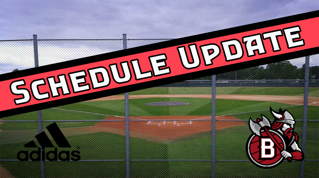 BLC Baseball Schedule Update - Bethany Lutheran College