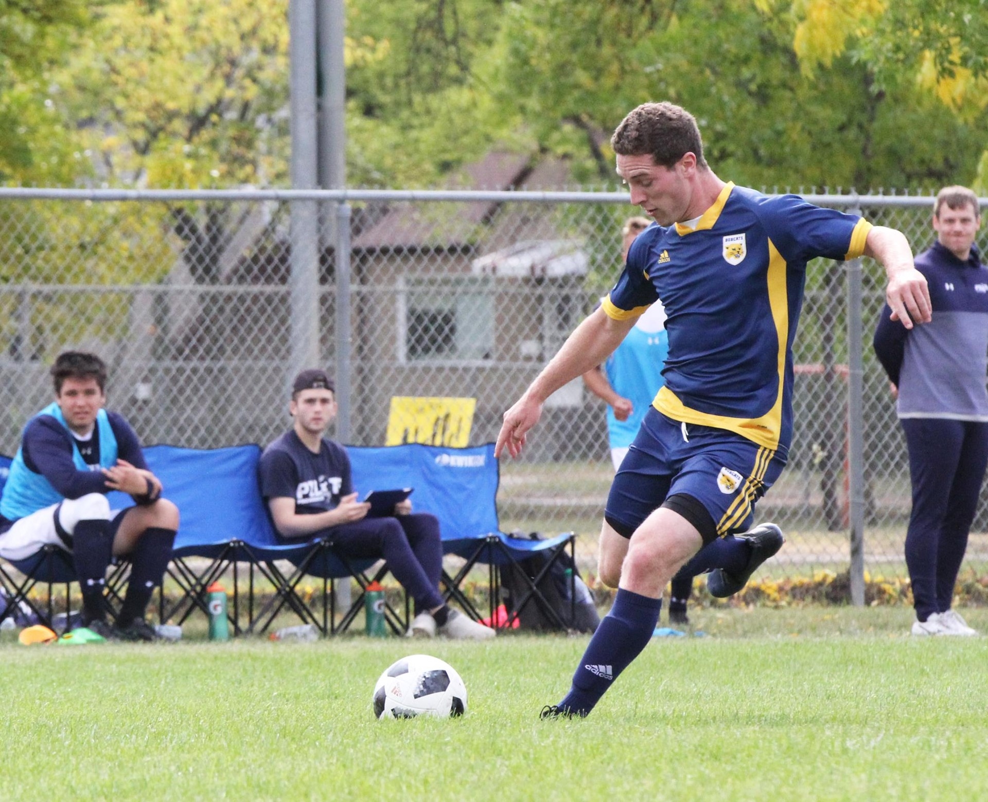 edwards earns league mvp award brandon university athletics