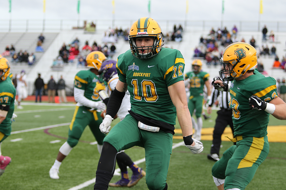 Image result for brockport golden eagles football