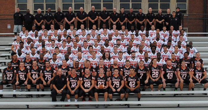 Buffalo State Athletics 2012 Football Roster