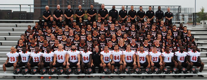 Buffalo State Athletics 2013 Football Roster