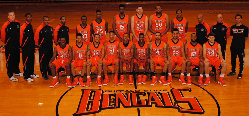 Buffalo State Athletics 2016 17 Men S Basketball Roster