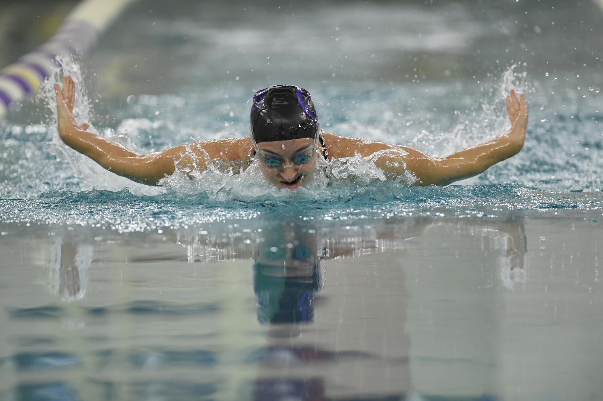 Mallory marzolf women 39 s swimming diving chatham university athletics for Deer lake swimming pool schedule