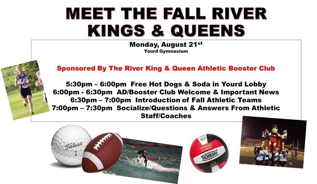 Clinton High School Meet The Fall River Kings Queens