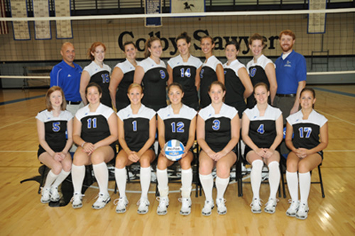 Colby Sawyer Athletics 2008 Womens Volleyball Roster